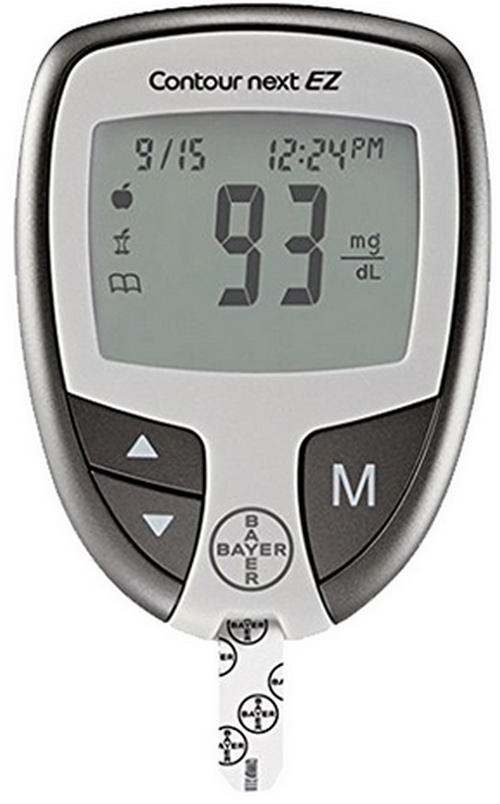 Bayer contour Next best Glucometers picture image photo