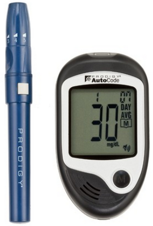 Prodigy Autocode Talking Glucometerbest Glucometers picture image photo