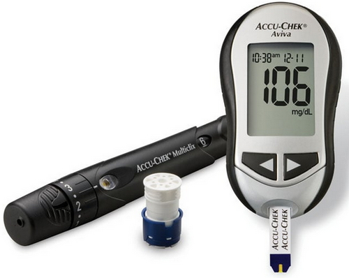The Accu-Chek Aviva Connect best Glucometers photo image picture